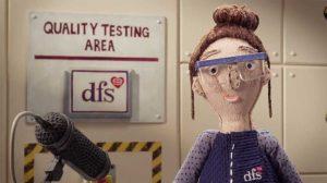 Aardman - DFS - THE BIG SOFA TEST