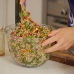 Header Image of Jean Hailes cooking segment for explainer video blog.